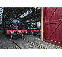 Steam Locomotive HDR V Photographic Print