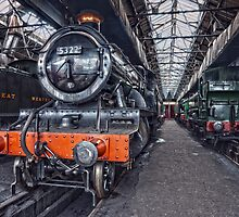 Steam Locomotive HDR VI by Simon Lawrence