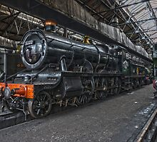 Steam Locomotive HDR VII by Simon Lawrence