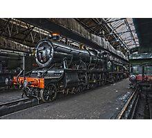 Steam Locomotive HDR VII Photographic Print