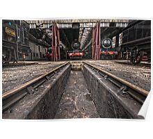 Didcot Railway Yard HDR II Poster