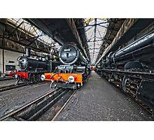 Steam Locomotive HDR VIII Photographic Print