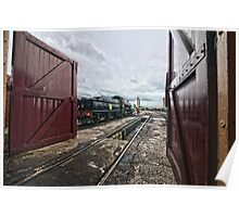 Didcot Railway Yard HDR III Poster