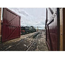 Didcot Railway Yard HDR III Photographic Print