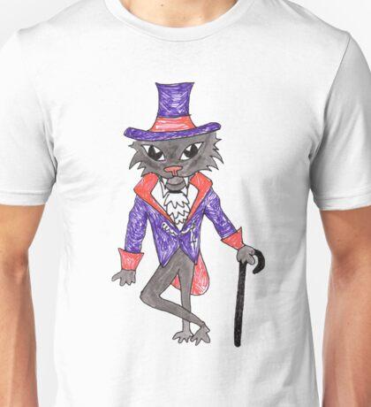 Halloween Vampire Cat Unisex T-Shirt