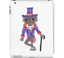 Halloween Vampire Cat iPad Case/Skin