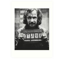 Sirius Black. Art Print