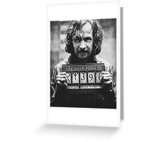 Sirius Black. Greeting Card