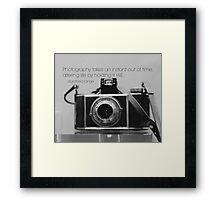 Photography Dorothea Lange Framed Print