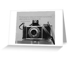 Photography Dorothea Lange Greeting Card