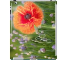 First Poppy iPad Case/Skin