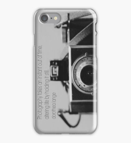 Photography Dorothea Lange iPhone Case/Skin