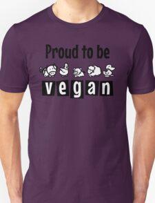 Proud to be vegan T-Shirt