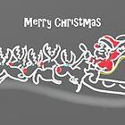 Santa's Sleigh by Janys Hyde