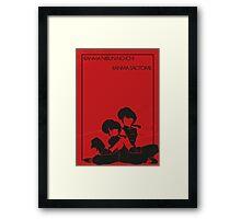 Ranma 1/2 Framed Print