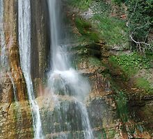 Base of Salino Waterfall 3 by jojobob