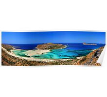 Panorama of Balos Poster