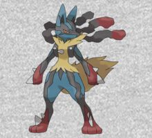 Mega Lucario Kids Clothes