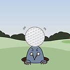 Golf Mole by LucyOlver