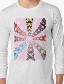 Butterflies World Long Sleeve T-Shirt