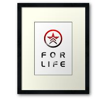 Renegade for Life Framed Print