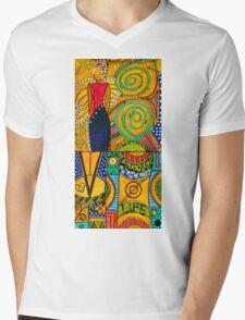 The Angel SPARKLE Celebrates LIFE Mens V-Neck T-Shirt