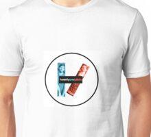 Twenty Øne Pilots logo with faces  Unisex T-Shirt
