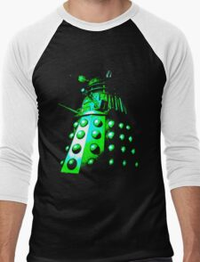 Dalek Gamma – Green Men's Baseball ¾ T-Shirt
