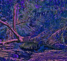 Fauvist Tree from Enchanted Garden by Nira Dabush