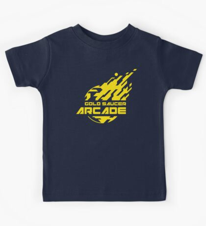 GOLD SAUCER ARCADE Kids Tee