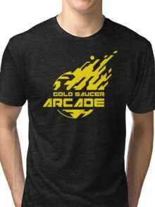 GOLD SAUCER ARCADE Tri-blend T-Shirt
