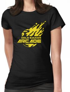 GOLD SAUCER ARCADE Womens Fitted T-Shirt