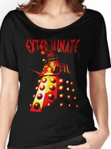 Dalek Gamma – Exterminate! Women's Relaxed Fit T-Shirt
