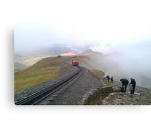 Snowdon Railway Canvas Print