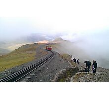 Snowdon Railway Photographic Print