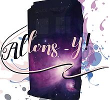Tardis' Allons-y! by Rouages Design