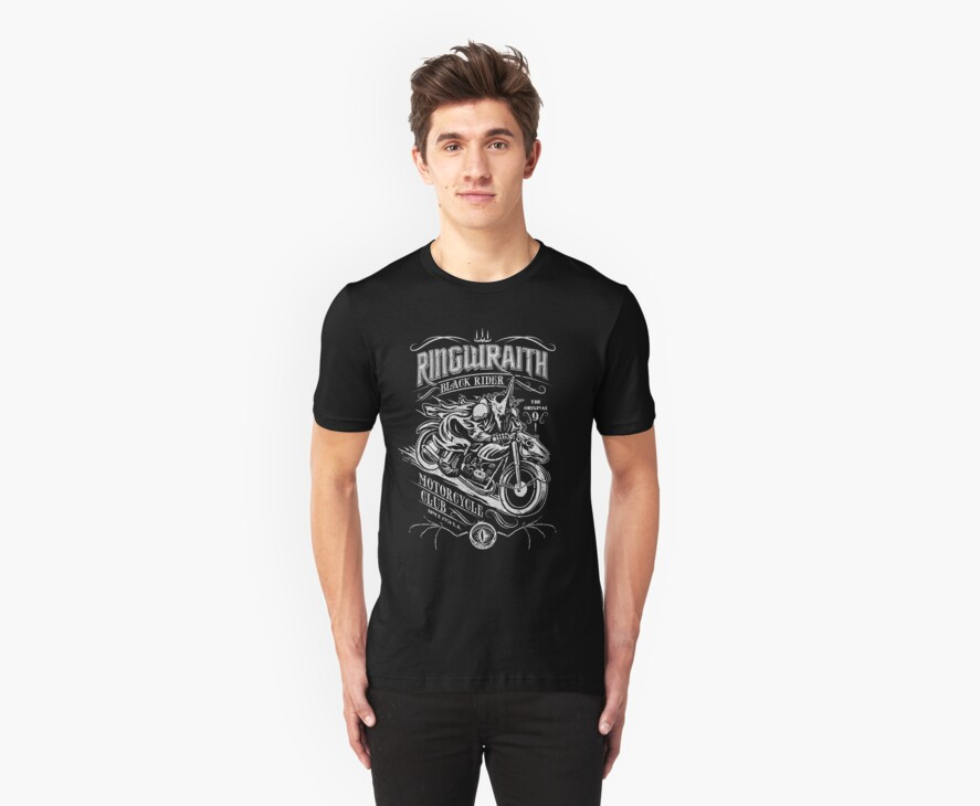Black Rider Motorcycle Club by ianleino