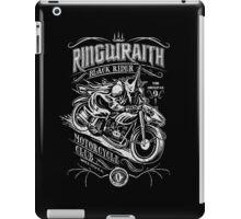 Black Rider Motorcycle Club iPad Case/Skin