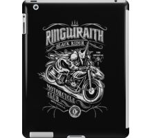 Black Rider Motorcycle Club iPad Case/Skin