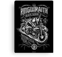 Black Rider Motorcycle Club Canvas Print