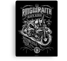 Black Rider Motorcycle Club Canvas Print