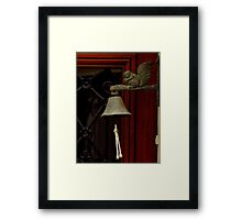 Ring My Bell ~ Part One  Framed Print