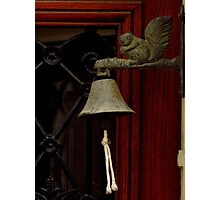 Ring My Bell ~ Part One  Photographic Print