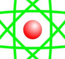 Atom Sticker