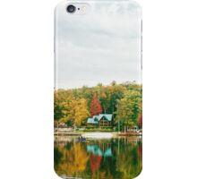 Autumn - Lake - Pocono Mountains iPhone Case/Skin