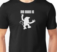 My Main Is Diddy Kong (Smash Bros) Unisex T-Shirt