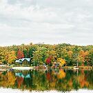 Autumn - Lake - Pocono Mountains by Vivienne Gucwa