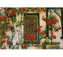 Beguinage Window - Lier - Belgium Photographic Print