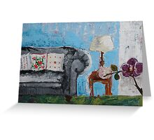 Domestic Scene Greeting Card