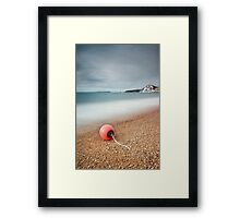 Worbarrow Bay Buoy Framed Print